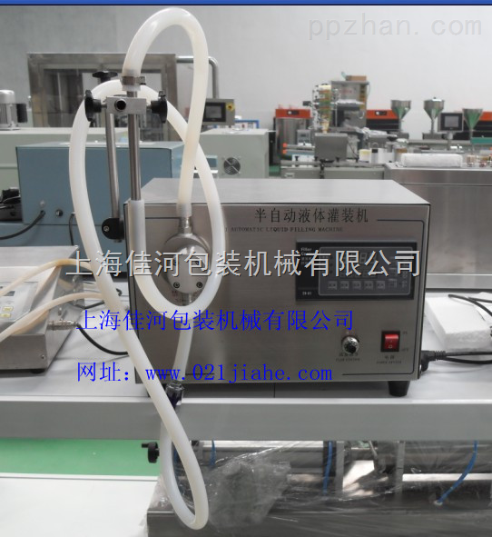 电动自吸式灌装机半自动液体灌装机
