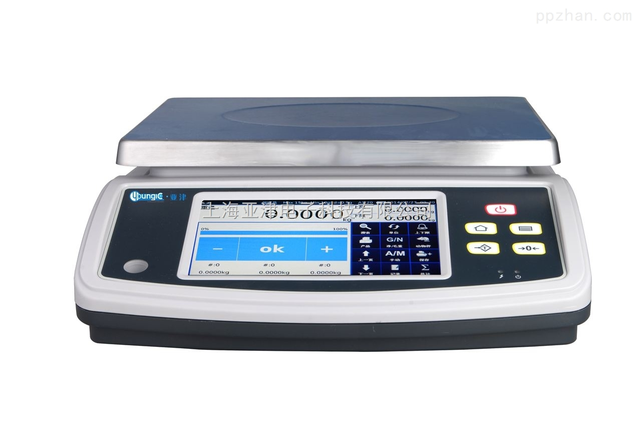 【亚津】市场电子秤 防水电子桌秤 3公斤计重桌秤