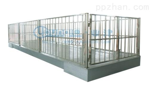 3吨上海地磅不锈钢牲畜秤