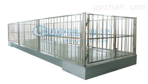 2吨牲畜秤不锈钢动物秤
