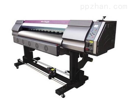 e-001大幅面的户外写真机,通过新一代技术改装,转型万能打印机