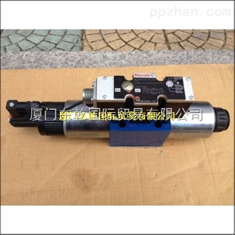 原装力士乐现货比例阀4WREE10W1-75-2X G24K31 F1V
