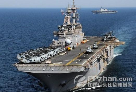 美国海军两栖攻击舰设有3D打印机