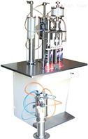 供应半自动三合一气雾剂灌装机