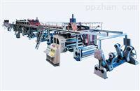 厂家直销  单面瓦楞流水线 高速单面瓦楞纸板生产线 纸皇冠hg1717|官方网站机械