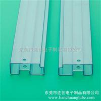定制高透明PVC方管 TUBE管管装IC配胶塞